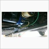 油温、油圧のセンサー部のオイル漏れ、配線の傷みをチェック。問題ないようです。