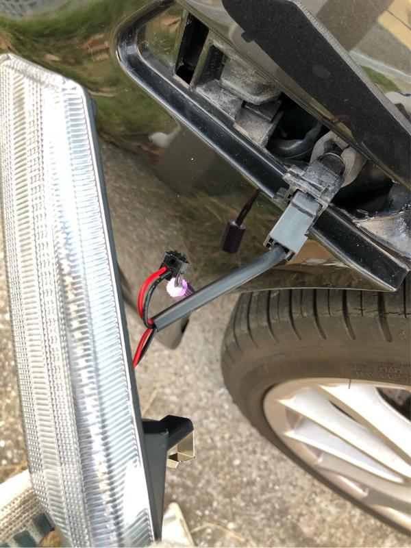 サイドマーカー交換(LED化)