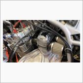 シルバーエンジンですので、使用する予定はありませんが、同調も取って保管していきます。<br /> 傷防止、汚れ防止のために、ラップ巻いてます。