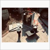 サンポット 石油ストーブの整備