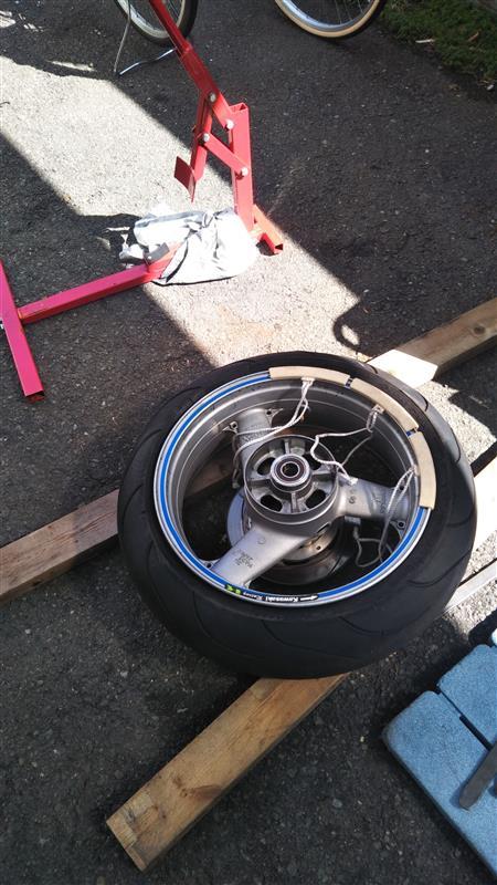 タイヤ交換+α