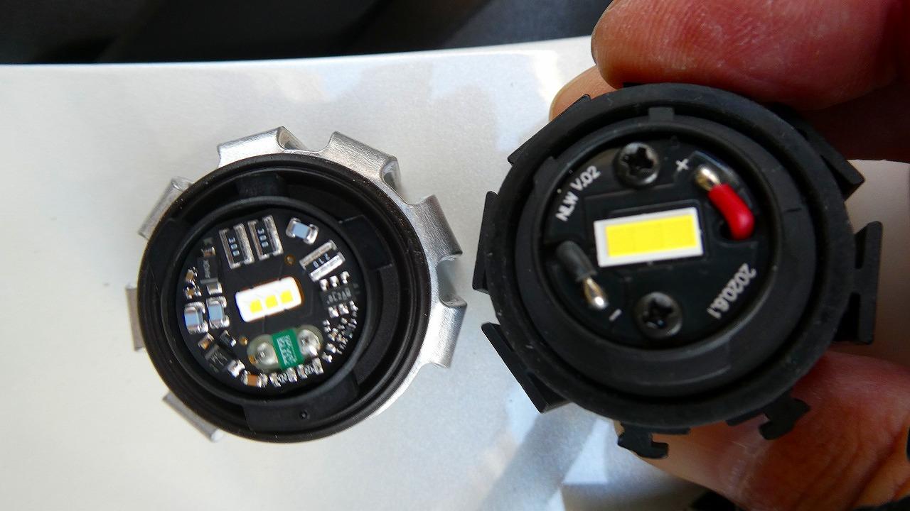VELENO LEDフォグバルブの交換
