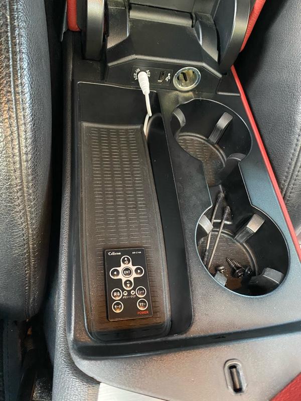 Bluetoothが使えないので、AUX