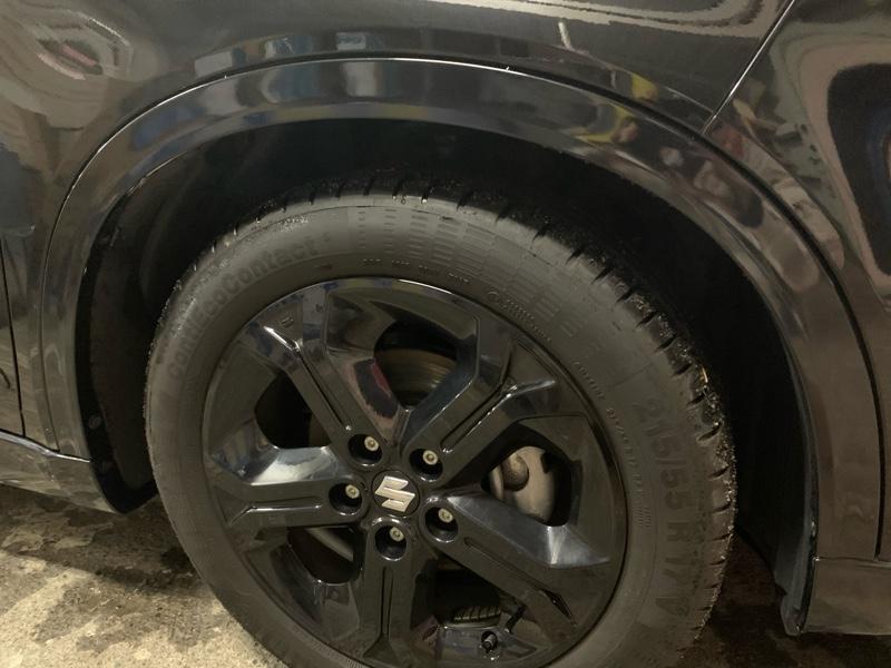 未塗装ABS塗装、磨き完了後の写真