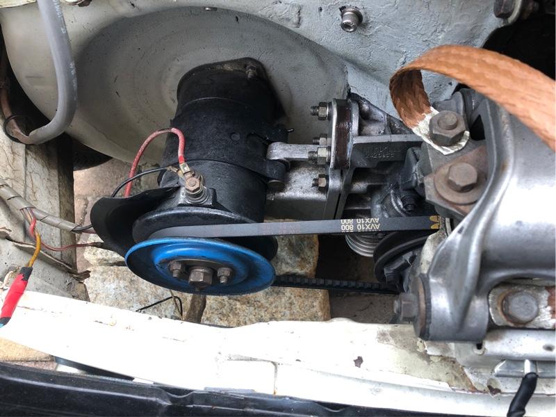 燃料ポンプ跡のガスケット新品交換