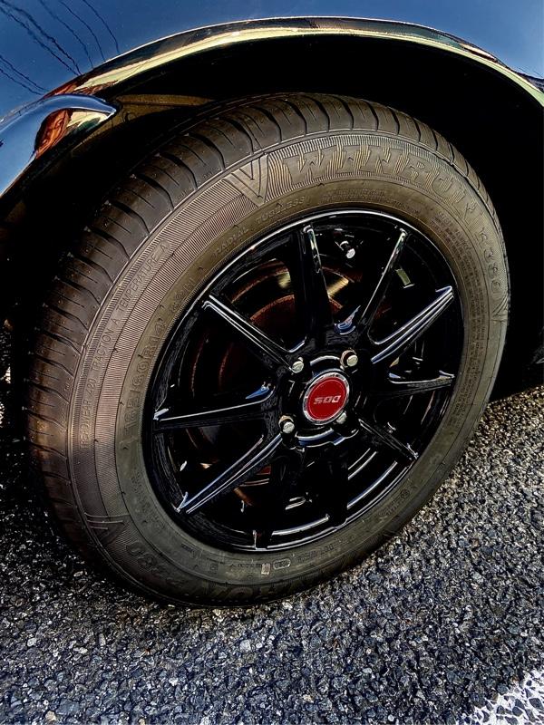 タイヤ、ホイール、車高調交換