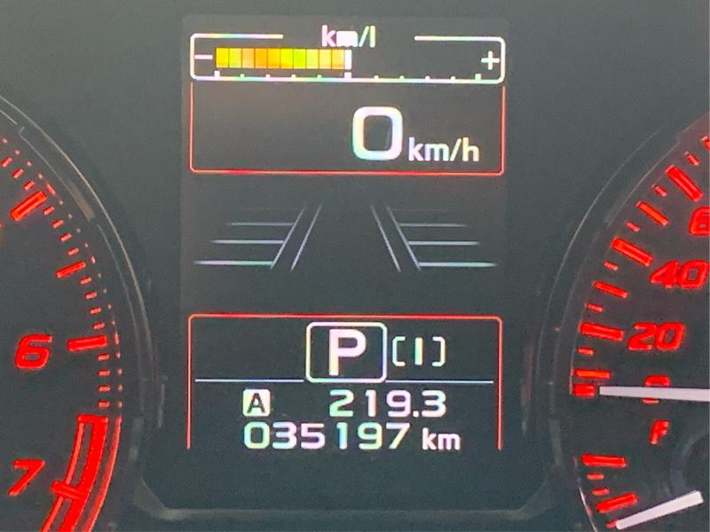 冬ワイパーに交換 35,197km