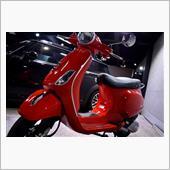 イタリアを代表するヨーロピアンスクーター!ベスパ・LX125のガラスコーティング【リボルト川崎】