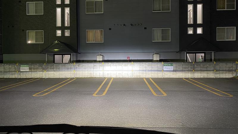 ライト類の配光確認