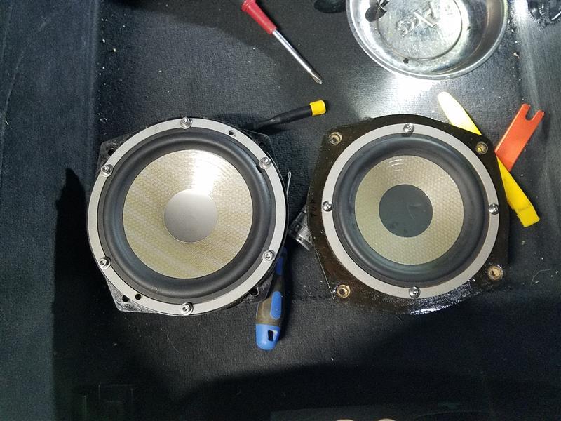 スラントバッフル作成S600a設置
