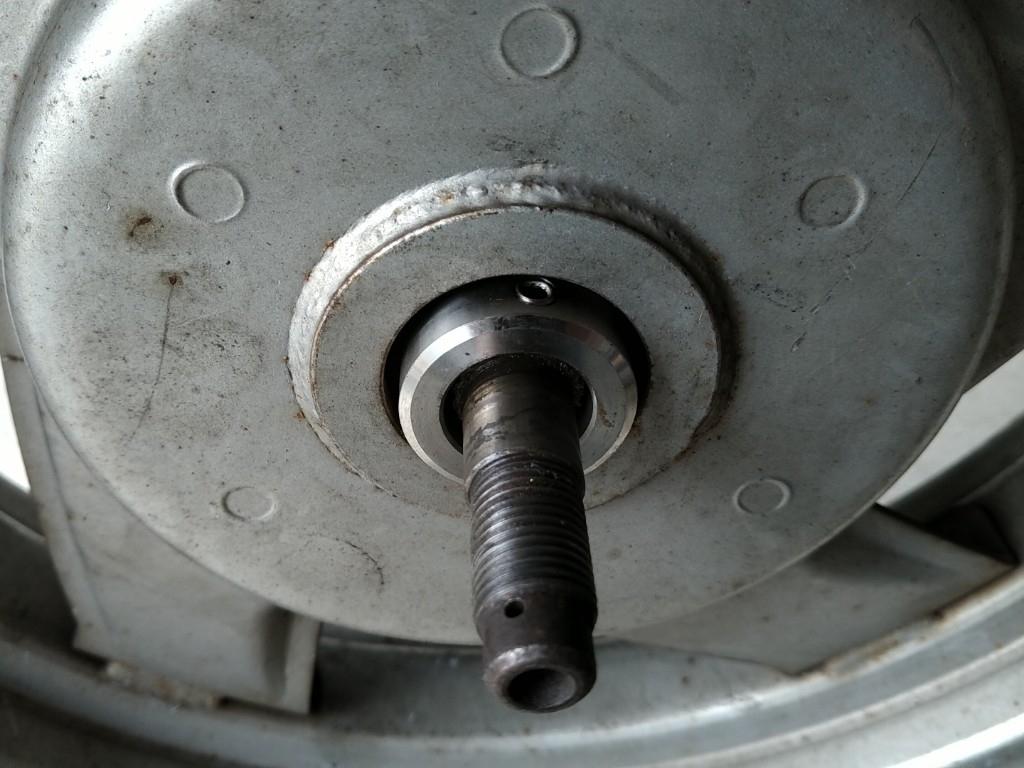 シグナス50V リヤ12インチ化