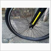 Tire tube valve rubber repair @ ハマーくん