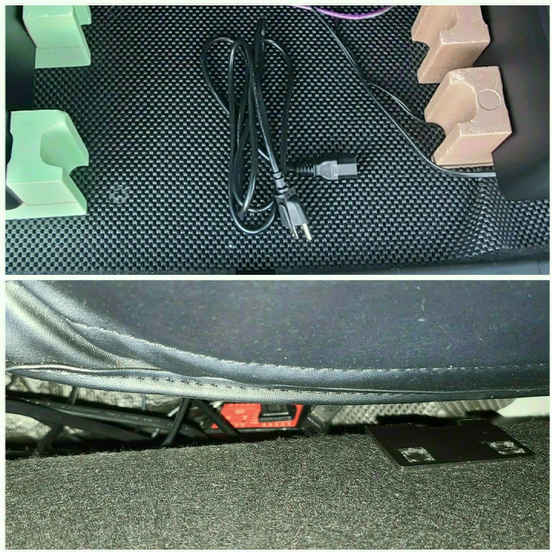 OSDオーディオ8インチホームシアター用ウーハーを載せた