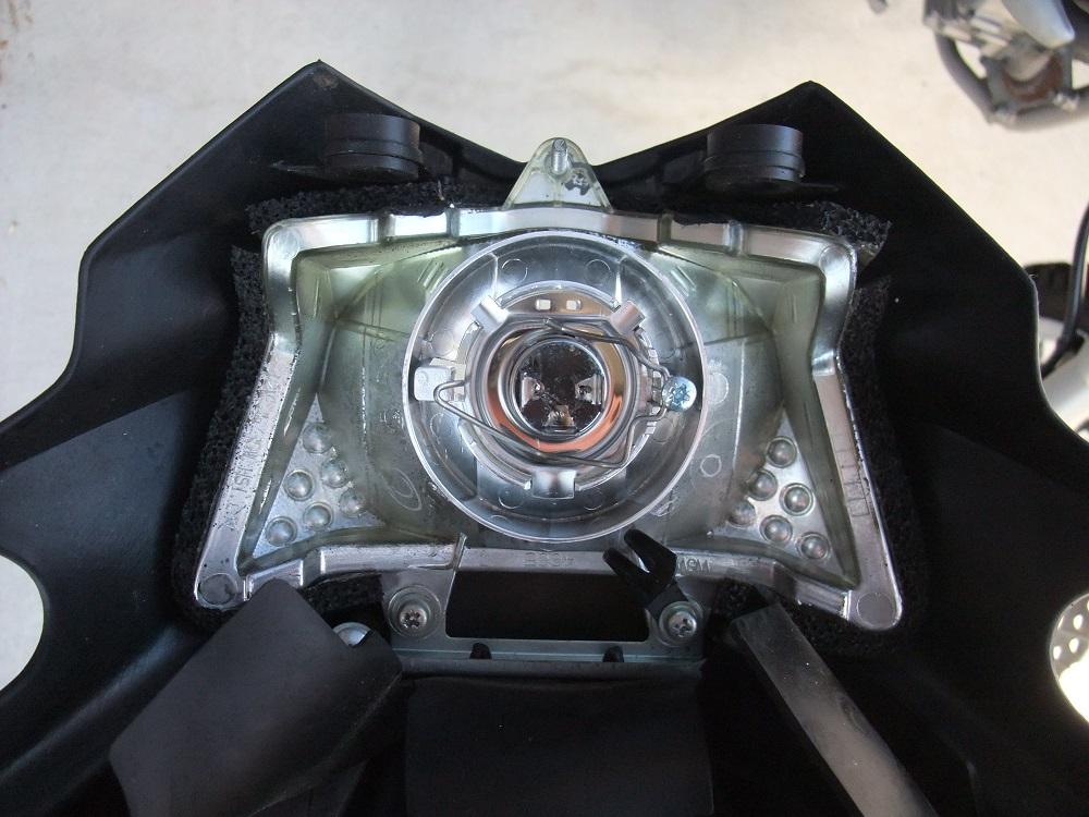 KLX125のバルブ交換
