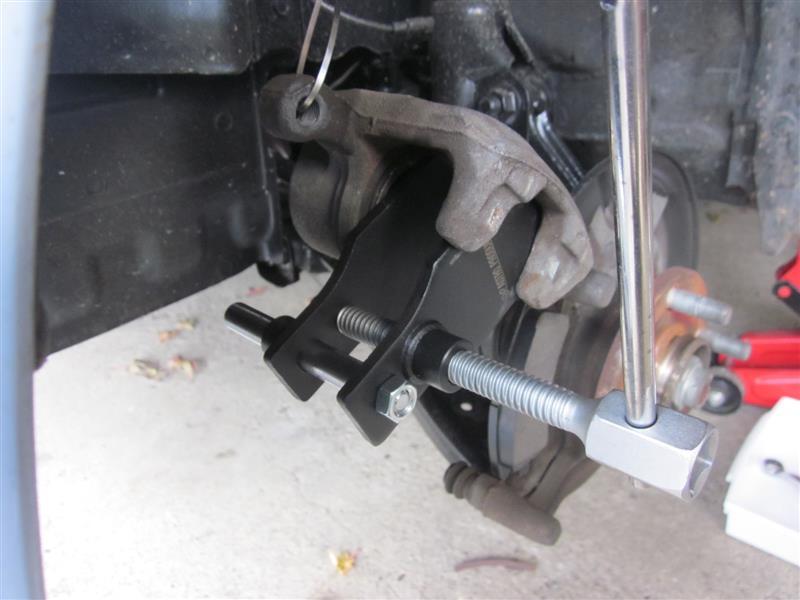 ブレーキパッドとローター交換