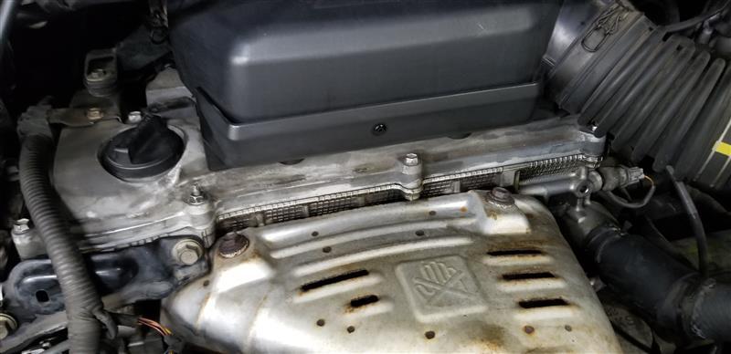 エンジンからオイル漏れ(>_<)
