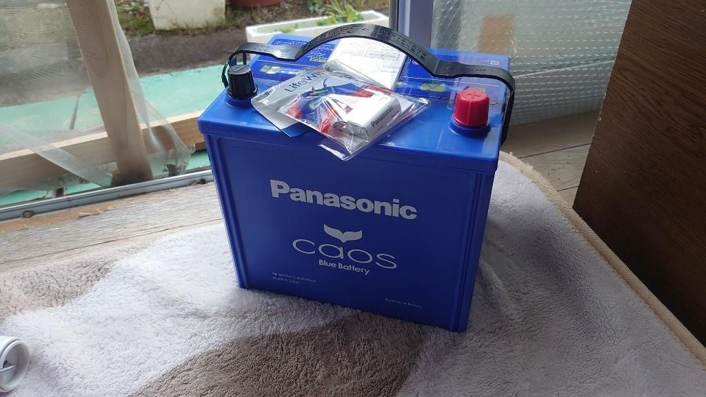 【備忘録】Panasonic CHAOS 取り付け (120165km)