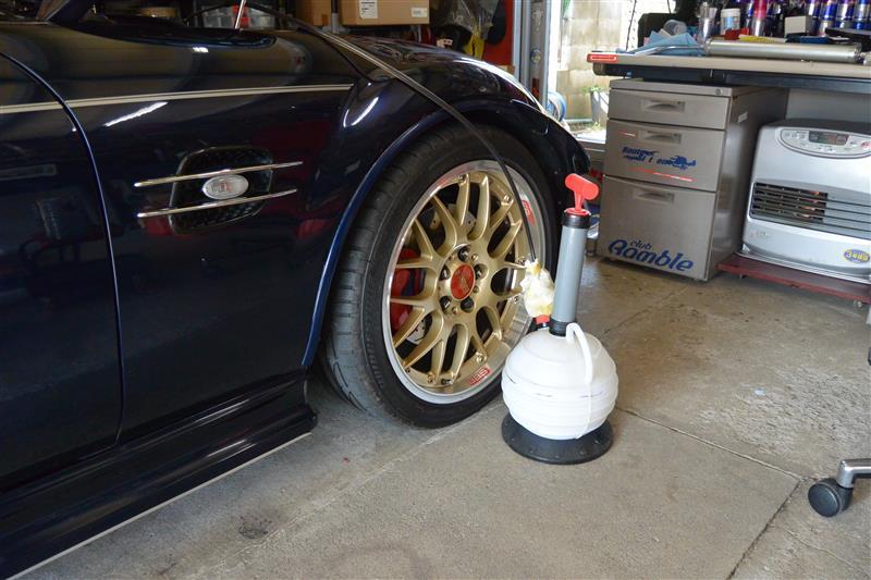 車高調(オーリンズDFV)・エンジン・デフオイル 交換