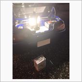 洗車して車戻そうとしたらバッテリー上がり<br /> しばらく乗ってないとこんなもんですww<br /> ストックの新品バッテリーに交換