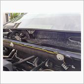 ゼトロ耐熱吸音シート貼り