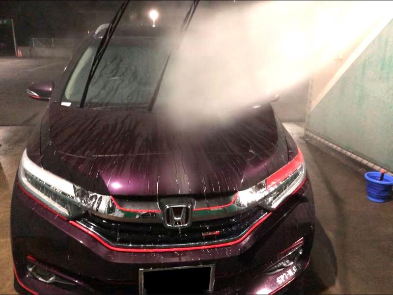 夜洗車(EPYON・超撥水スプレー)
