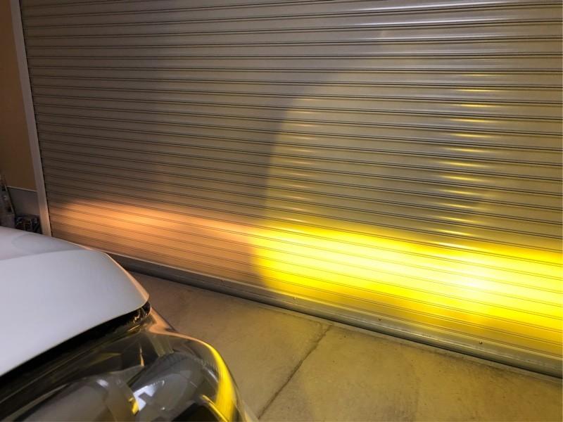 LEDフォグバルブに交換 VALENO LEDフォグランプイエロー 実測値8200lm