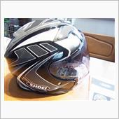 オープンフェイスヘルメットのオリジナル化♪