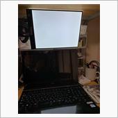PC入力時の原稿台にしました。<br /> 明るくて年寄りにはGood。(負け惜しみ)