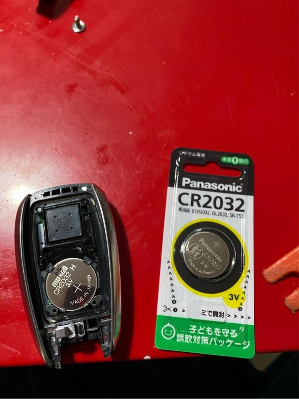 スマートキー電池交換!