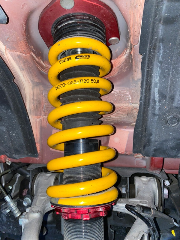 BLITZ車高調 バネレート変更
