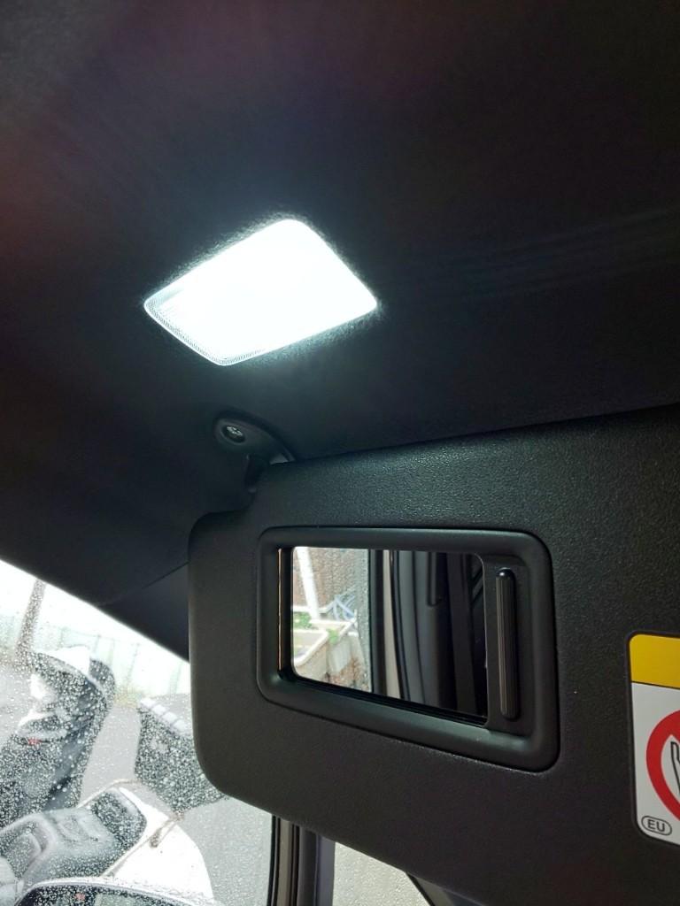 室内灯をLEDに交換