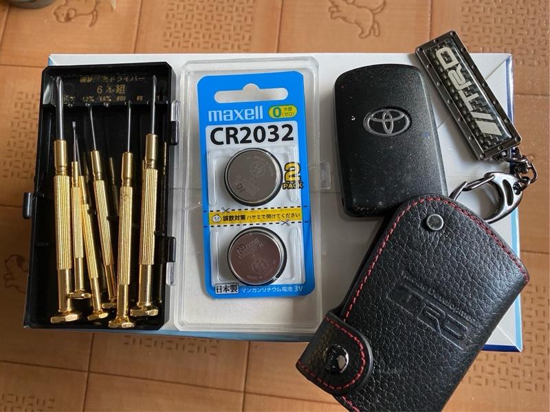 スマートキーの電池交換🔋(備忘録)
