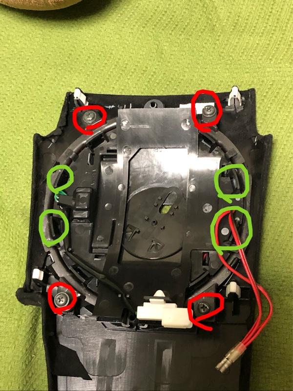 RX-8 内装赤化(シフトパネル) 〜分解加工と取り付け〜