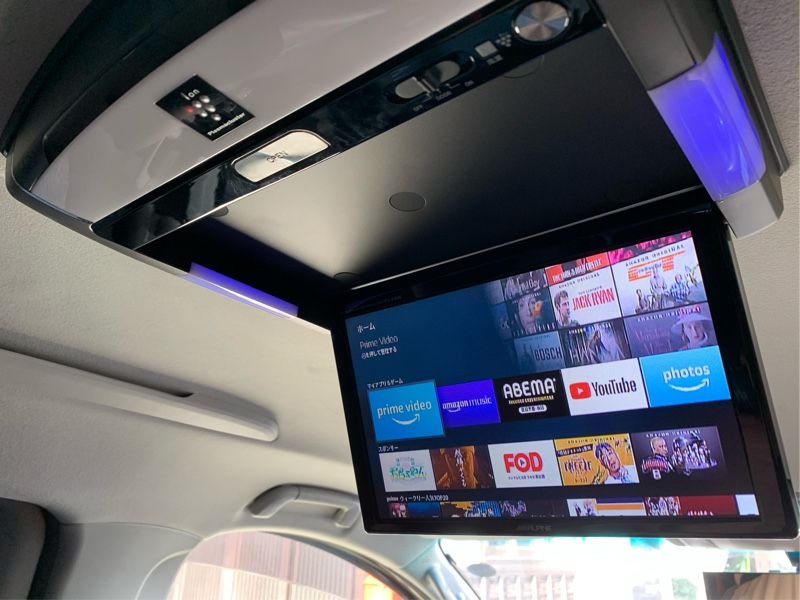 Fire stick TV 車載化
