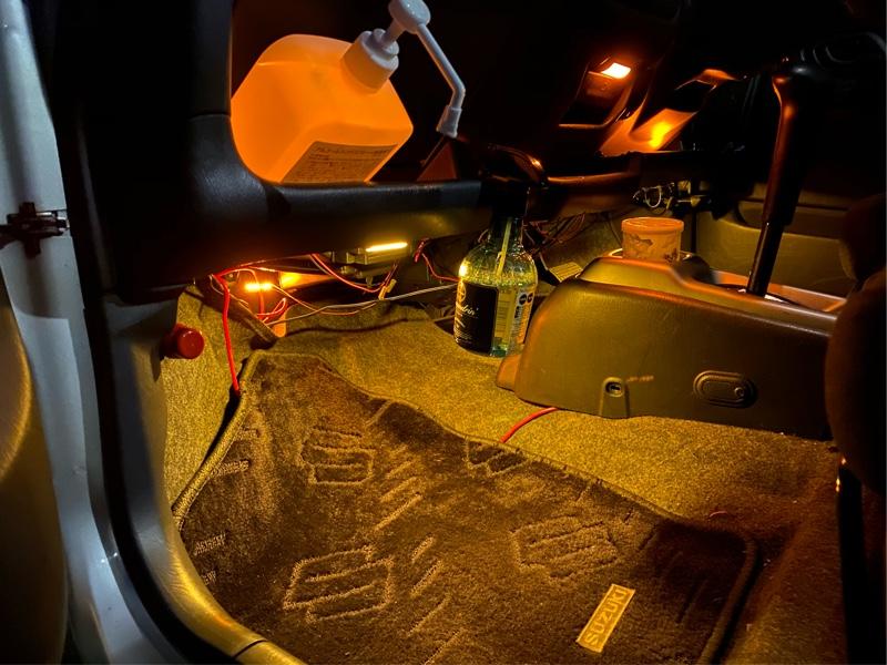 シートヒーター配線