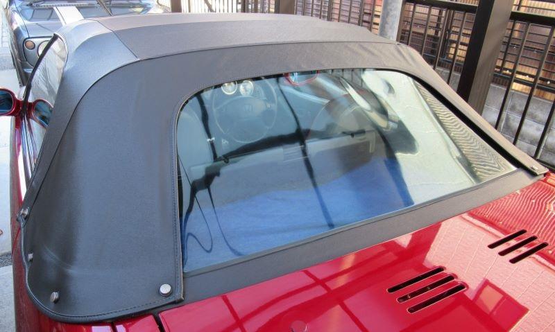 洗車、幌、及びリアスクリーンクリーニング