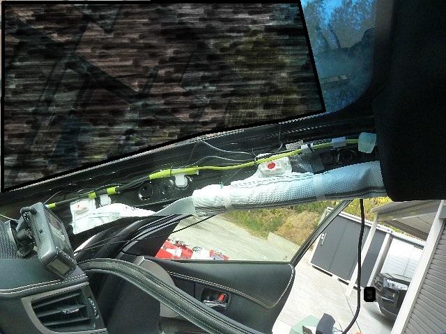 20201230 ドライブレコーダー取付 その2