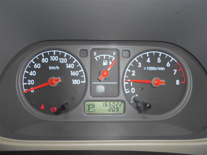 オド165022km