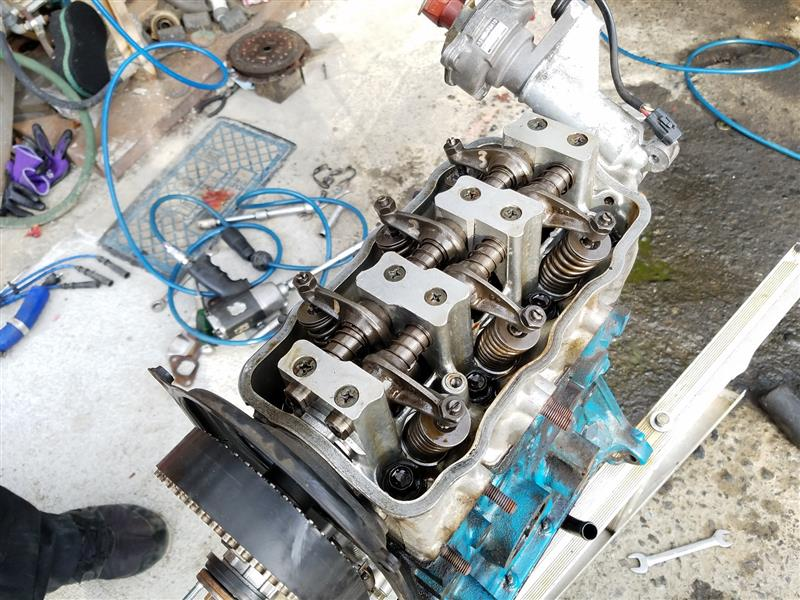 エンジン載せ替えたけど、エンジンが不良で直ぐ下す