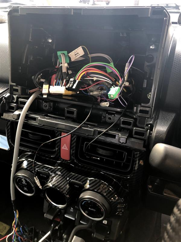 油温・油圧計の取付(その4)