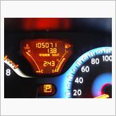 105071kmで交換です。