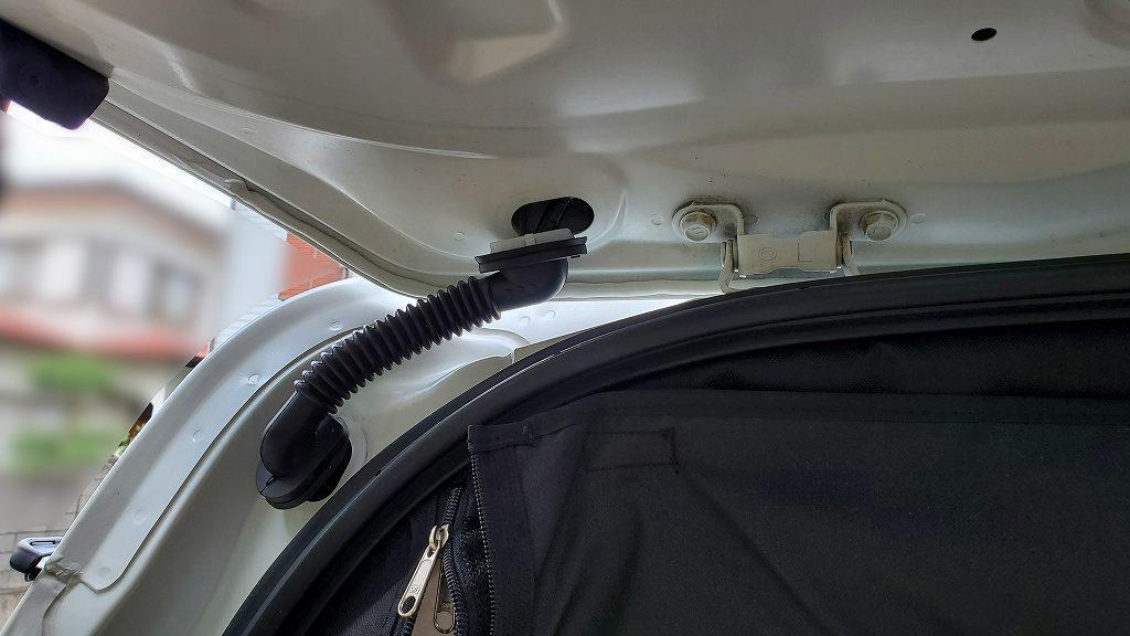 ドライブレコーダーの取り付け(その1)