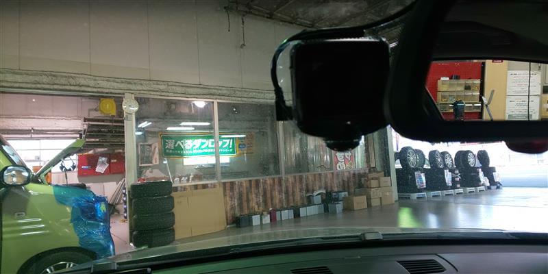360度ドライブレコーダー取付♪