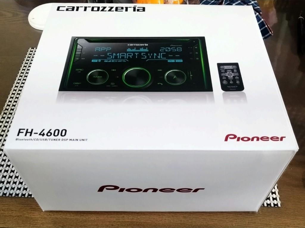 FH-3100からFH-4600へ交換。(´・ω・`)