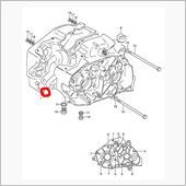k125 エンジンOH 交換部品リスト