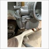 キャブレター燃料漏れ修理