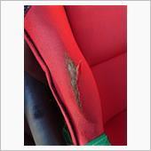 以前、貼るシートで覆いましたがすぐに取れてしまい。。。