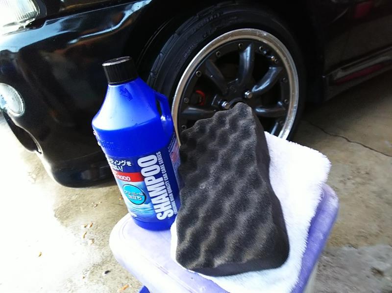 2001年の初洗車