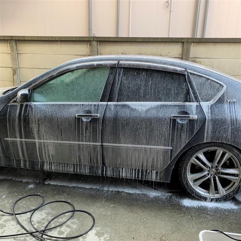 アイリスオオヤマで洗車