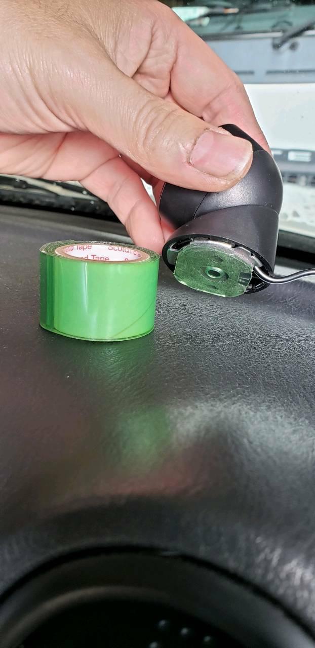 カロッツェリア(TS-F1040S)に付属のツイーターの両面テープ固定方法に特化した整備手帳